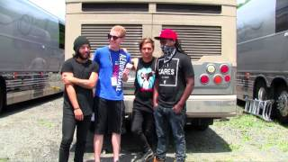 GHOST TOWN Interview #2 Featuring DeeFizzy Warped Tour 2014