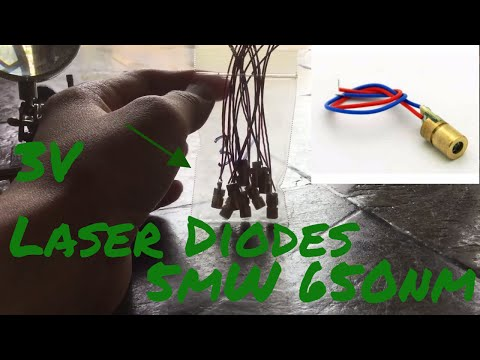 5mW 650 nm Laser Diodes from eBay