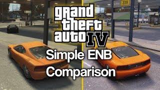 GTA IV: iCEnchancer 3.0 Simple ENB - 4k Graphics Comparison