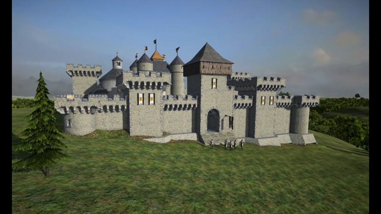 World of Castles - Building a Beautiful Medieval Castle ...