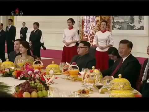 朝鲜纪录片2018年3月金正恩访问中国;2018.3North Korea Documentary Kim Jong Un visits China