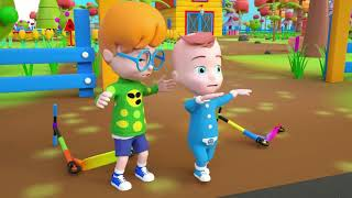 BABY POLICE STOPS STREET VEHICLES   Cartoon for Kids   Pretend Play with PiKaBOO