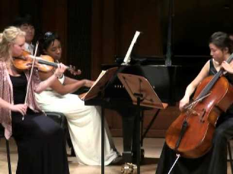 "Beethoven ""Ghost"" Trio: Michelle Cann piano"