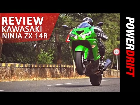 Kawasaki Ninja ZX-14R 2014 Review : PowerDrift