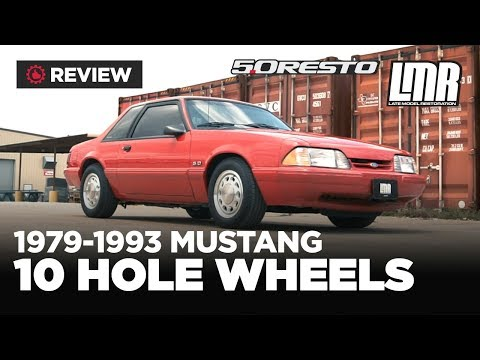 5.0Resto 1979-1993 Mustang Fox Body 10 Hole Wheels - Review
