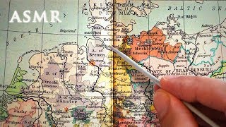 ASMR Reading Map of Central Europe in 1378 | Soft Spoken
