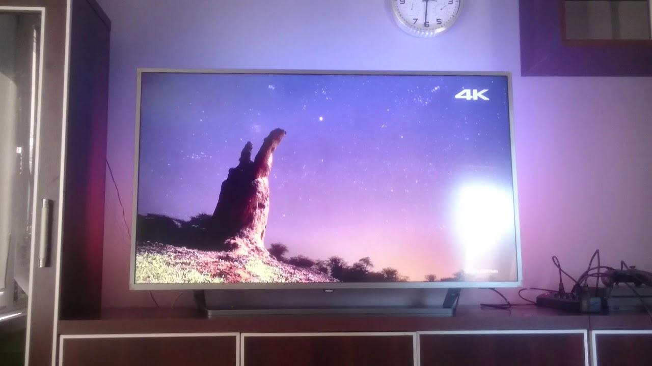 c32d13c7b TV philips 50pus7303 ambilight 4k Android - YouTube