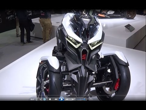 The Honda 2017 Motorcycles - Show Room JAPAN