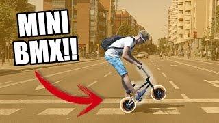 ME HAN REGALADO UNA MINI BMX!!