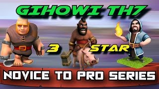 Novice to Pro Series | Live Attacks from an ITALIAN (Interview)| TH7 War Attacks | Clash of Clans