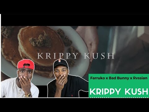 Farruko, Bad Bunny, Rvssian - Krippy Kush | Reaction