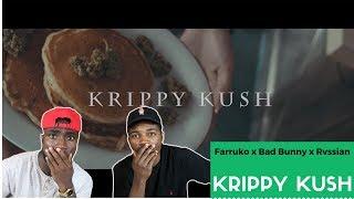 Farruko, Bad Bunny, Rvssian - Krippy Kush | Reaction