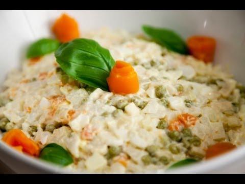 Veggie Salad – Salatka Jarzynowa – Ania's Polish Food Recipe #16