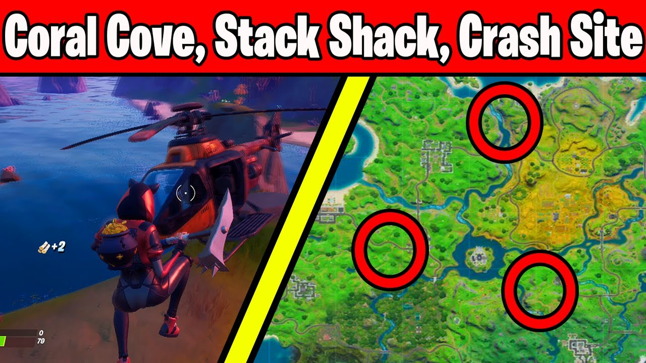 VISIT CORAL COVE, STACK SHACK & CRASH SITE WITHOUT ...