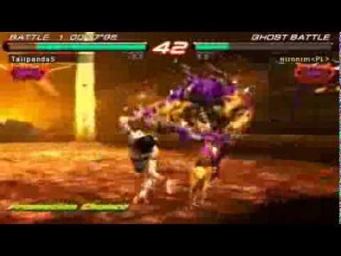 Tekken 6 Psp Zafina With Zero Loss Ranking Up To Tekken God