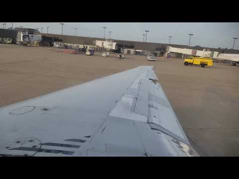 American Airlines MD80 from Norfolk International Airport to ORF Part 1 in 4K