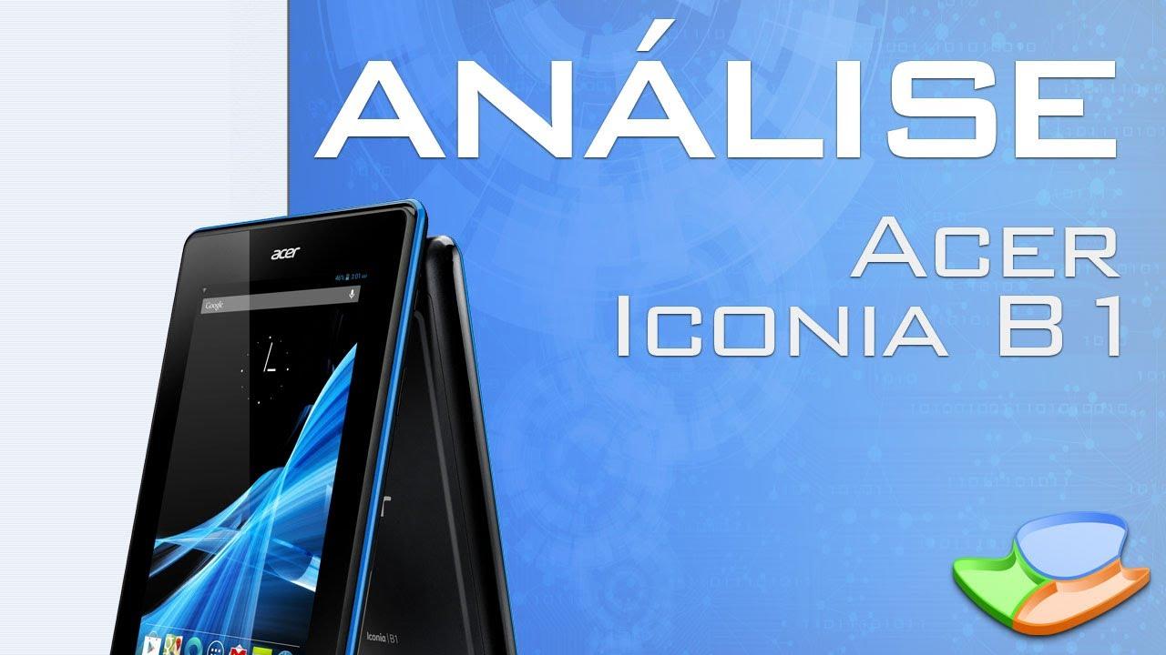 [Análise de Produto] Tablet Acer B1 – Tecmundo