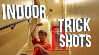 Lyks Basketball Trick Shots |Indoor Edition|