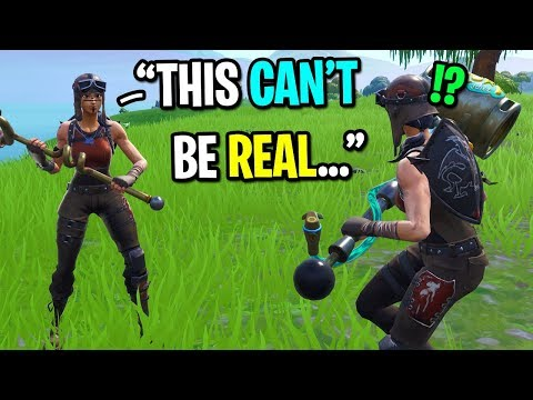 I found ANOTHER Renegade Raider in Fortnite random duos... (HIS REACTION IS PRICELESS!)