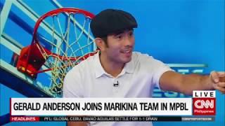 Gerald Anderson joins Marikina team in MPBL