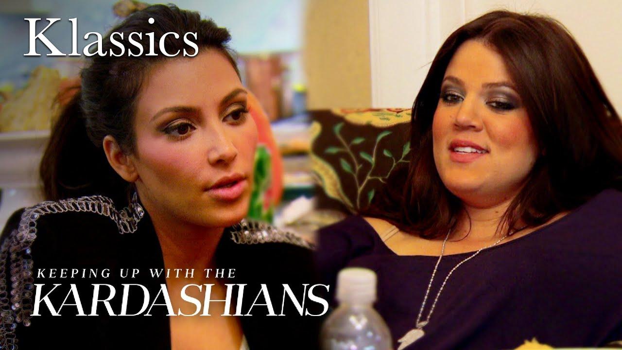 Khloe Kardashian Drags Kim Kardashian to Anger Management Classes | KUWTK | E!
