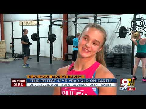 Mason's Olivia Sulek, 14-year-old CrossFit Champion, Is Probably Fitter Than You