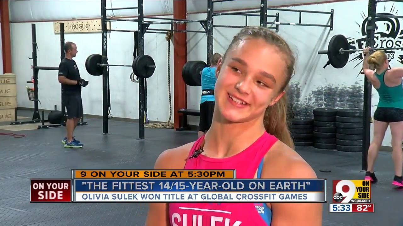 Mason's Olivia Sulek, 14-year-old CrossFit champion, is probably ...