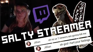 So... I Made A Female Twitch Streamer SALTY AS F on Dead by Daylight...