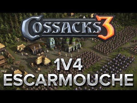 Cossacks 3 #2 : 1v4 Escarmouche