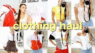 SHEIN BACK TO SCHOOL CLOTHING HAUL (try on)