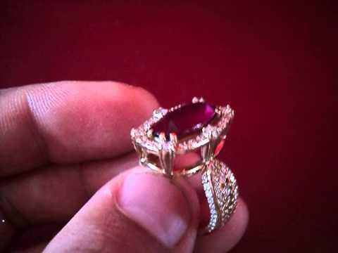 Перстень с овальным черным ониксом - YouTube