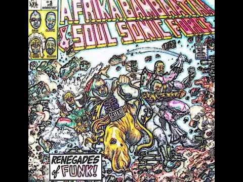 Afrika Bambaata & Soul Sonic Force - Renegades Dub Of Funk