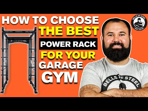 How to choose the best power rack for the money for your garage gym - Bells of Steel