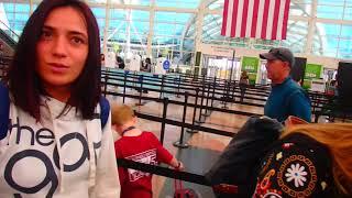 🔴 ВИКТОРИЯ на пути к НАТАШЕ 🔴 аэропорт Денвер Колорадо США 04.06.20192019