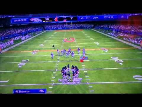 Madden 13 WK16 December 18 1993 Broncos @ Bears 4th QT