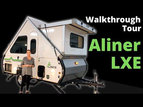 2020 Aliner LXE Walkthrough Tour