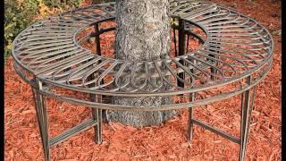 Tree Benches Around Trees| Tree Bench Design Ideas