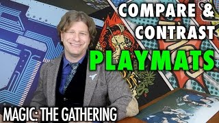 MTG - Compare and Contrast Playmats for Magic: The Gathering, Pokemon, and other Gaming