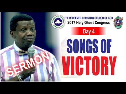 Pastor E.A Adeboye Sermon @ RCCG 2017 HOLY GHOST CONGRESS_ #Day4