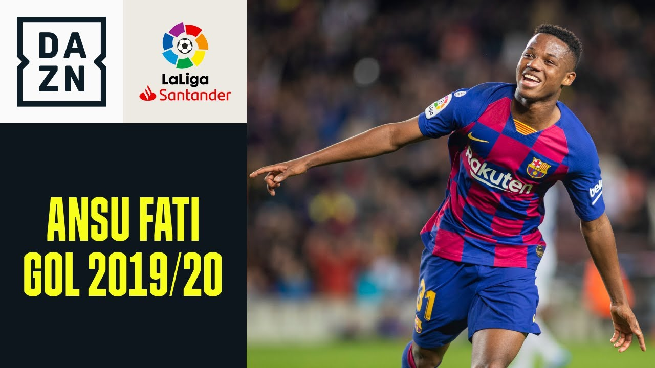 LaLiga 2019/20: tutti i gol di Ansu Fati con il Barcellona