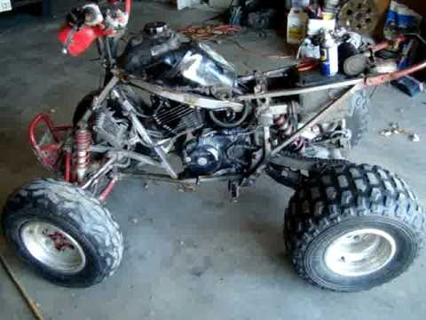 My 87 Honda TRX250X - YouTube