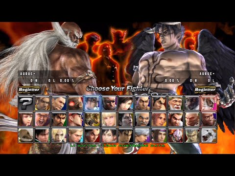 Tekken 5 Dark Resurrection Online All Characters Ps3 Youtube