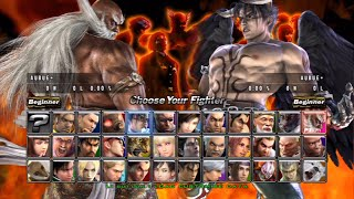 Tekken 5: Dark Resurrection Online All Characters [PS3]
