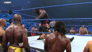 Friday Night SmackDown - Lumberjack World Heavyweight Title Match