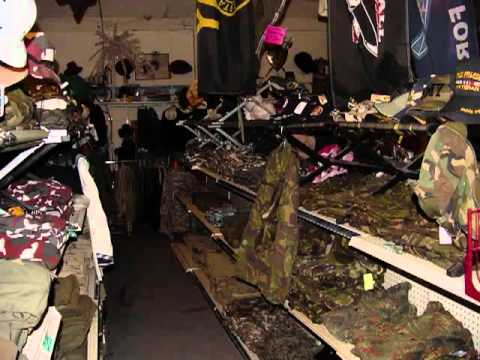 Bobs Army Navy Store In Mojave California Youtube