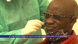 Yvelines | Une soixantaine de tests antigéniques réalisés à La Verrière