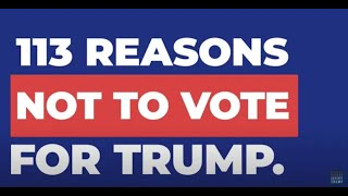 113 Reasons REPUBLICANS Aren't Voting for Trump in 2020
