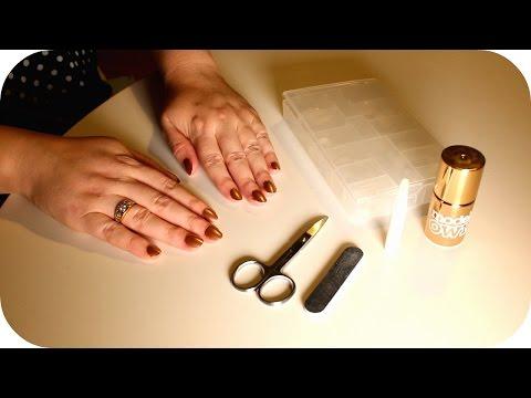 {ASMR} Soft-Spoken Fake Nails Application