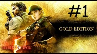 Resident Evil 5 Gold Edition PC [HD] | Let's Play en Español | Capítulo 1