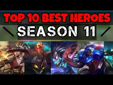 Top 10 Best Heroes For Season 11 Meta | The Strongest Heroes In The Meta  Right Now | Mobile Legends